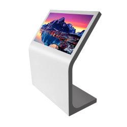 Новый дизайн напольных L форма ЖК-дисплей цифровой киоск 43 дюйма для использования внутри помещений Media Player для торгового центра супермаркет