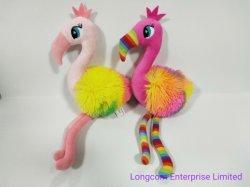 푹신한 장난감 - 어린이 선물 - 투 컬러 플라밍고 장난감