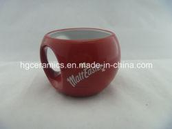 Ballon rond Mug, Spécial Mug, tasse de café, de la céramique tasse à café, Mug personnalisé, irréguliers mug
