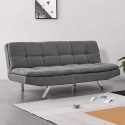 Hyc-Sf10b estilo moderno mobiliário doméstico de cor cinzenta sofá-cama para venda