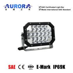 شريط إضاءة LED رباعي الصف في الولايات المتحدة الأمريكية للشحن 6 بوصات خارج الطريق مع SAE