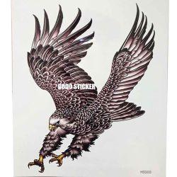 Corps de l'aigle tatouages temporaires autocollant