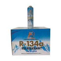 La refrigeración de alta 1kg de gas refrigerante R134A se utiliza para Auto Universal ACONDICIONADOR DE AIRE ACONDICIONADO