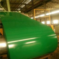 El color de la bobina de acero recubierto de material para techos Producto de construcción