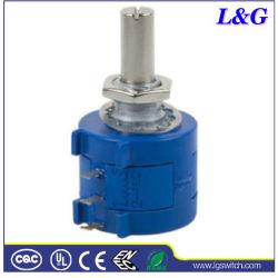 高いPrecision 50kohm 2W Rotary Potentiometer