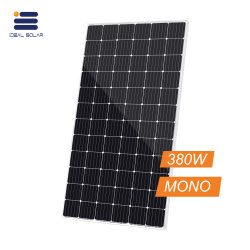 Haute tension Panneau Solaire de bonne qualité Precio mono 380WP 380 watts 400W 500W Modules PV