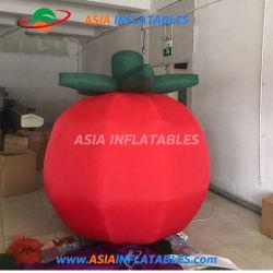 Réplica de inflables inflables publicitarios gigante Globo tomate