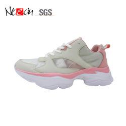 Новый стиль Мужчины Женщины оптовой дышащий марки спортивной обуви при работающем двигателе
