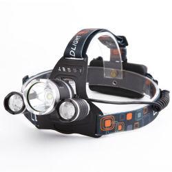 Xm-T6X3 Zoom faróis LED Lanterna Torch Camping Pesca Lanterna Farol Use 2*Bateria 18650 / AC/Carro/USB/ Carregar