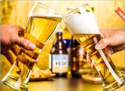 ODMおよびOEMの中国の製造者のワールドカップビールガラス