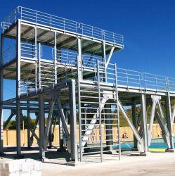 La Camera di blocco per grafici di metalli pesanti dell'acciaio inossidabile di abitudine Q235B ha prefabbricato il blocco per grafici d'acciaio Pre-Costruito struttura per la costruzione di edifici