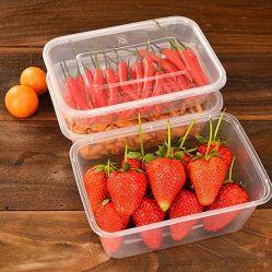 使い捨てプラスチックふた付き弁当箱 プロモーション製品