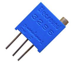 3296 Square des résistances variables des potentiomètres de fraisage de feux de croisement bleu Cermet