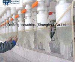 Guanto automatico del PVC che tuffa riga macchina del guanto di /PVC
