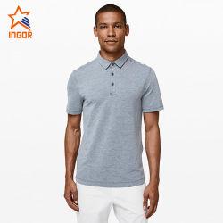 De nylon de desgaste de Golf personalizadas de ropa deportiva Hombres de Negocios Polo T-Shirt