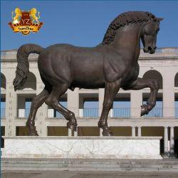 中国の工場直接供給の高品質の実物大の鋳造の屋外の装飾のための真鍮の青銅色の馬の彫像の彫刻