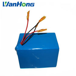 24V 10Ah Pack de batterie au lithium/batterie au lithium de petite taille pour l'E-Bike avec PCM/batterie portable
