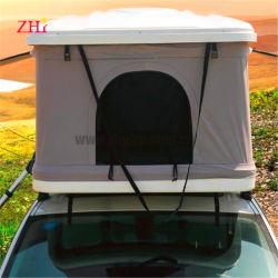 차 지붕 천막 단단한 쉘 섬유유리 UV 저항하는 방수 처리한다