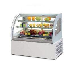 Tipo del dispositivo di raffreddamento della visualizzazione e vetrina del congelatore della torta & del cioccolato di certificazione del Ce