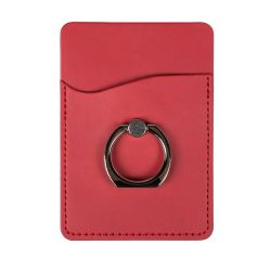 携帯電話のためのリングの立場が付いている革携帯電話の札入れ/ポケット/帯出登録者