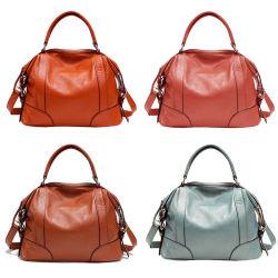 De nieuwe Naar maat gemaakte Luxe van de Ontwerper van de Manier Verdeler Guangzhou China van de Markt van de Kwaliteit van de Zak van Crossbody van de Schouder van de Totalisator van Dame Name Handbag Genuine Leather Vrouw de In het groot