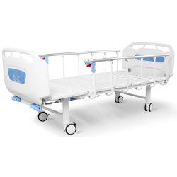 D2w6s Manual barato Casa usado ABS Hospital manivela cama plegable