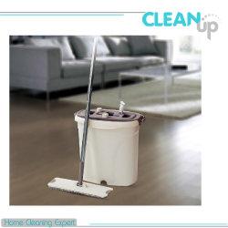 새로운 디자인, 핸드 프리 물걸레 세트/스핀 물걸레/극세사 평면 물걸레/홈 청소