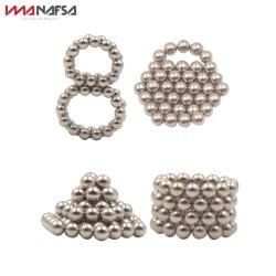 N35 Bolas de brinquedos magnéticos de Fractius 5mm 216PCS bolas com magneto de neodímio
