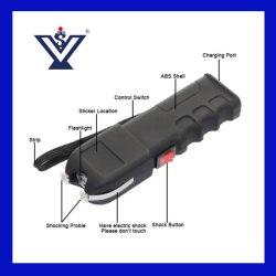 Vendas quente Pistola de choque elétrico defesa com lanterna LED pistolas paralisantes (SYSG-1911)