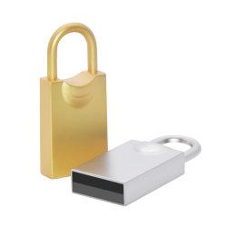 Форма блокировки New-Style флэш-накопитель USB 2.0 32ГБ металлические USB-Pendrives 64ГБ 16ГБ Micro Pen-Drive 8 ГБ 4 ГБ U-диска