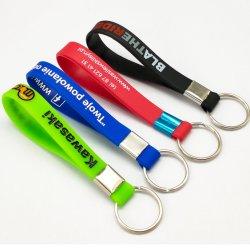 Производитель пользовательские моды силиконовый браслет ключ цепи компании поощрения элементы спортивного Tyvek браслет силиконовый эластичные ленты просмотра с помощью любых логотипов