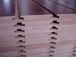 Vorstand Qualitäts-Melamin MDF-Slatwall /Slat 15mm/17mm/18mm