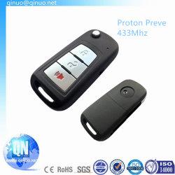 De Sleutel van de Auto van de tik voor Proton Preve 3 Knopen 433MHz