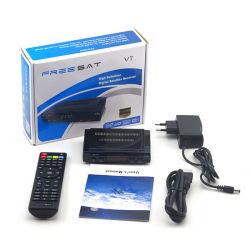 Doos van Cccam Powervu Biss 3G WiFi van de Steun van de Ontvanger van Freesat V7 HD dvb-S2 de Satelliet Vastgestelde Hoogste