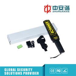 Ordinateur de poche de la batterie rechargeable de détecteurs de métal portable d'alarme vibratoire des détecteurs de métaux