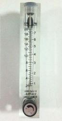 """Débitmètre Type de panneau en acrylique pour l'eau/gaz/air PT ou NPT filetage 1/2"""" débitmètre"""