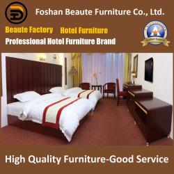 Il laminato moderno completo fatto personalizzato sulla mobilia della doppia base del re Size del MDF ha impostato per la camera da letto dell'hotel