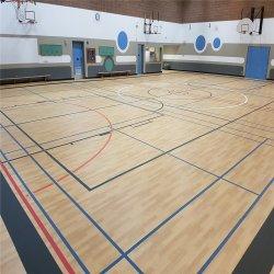 Telhas de pavimento de plástico de PVC para Ginásio de Esportes e