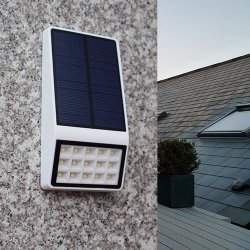 Nsl-860A Bahn-Solarwand-Licht ABS Shell