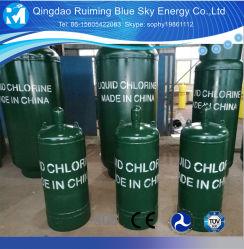 De Vloeibare Gasfles van uitstekende kwaliteit van Cl2 van de Cilinder van Chloor 99.999%