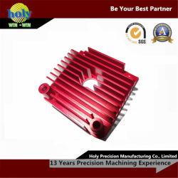 L'usinage CNC colorés pour les équipements électroniques du radiateur en aluminium