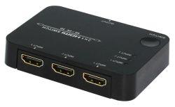 Van IRL 3D Gesteunde 3X1 HDMI Switcher van de Afstandsbediening