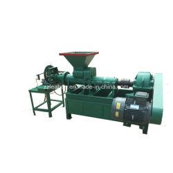 Usa horno de leña y carbón briquetadora hueco de la línea de producción
