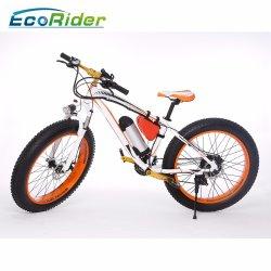 26inch Snowmobile elettrico grasso della bici di montagna del pneumatico 48V 350W