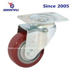Charges moyennes Mini Roulette en PVC rouge violacé