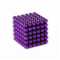 5mm magnetischer Kugel-magischer Würfel-Puzzlespiel-Bereich-Magnet-pädagogische Spielwaren