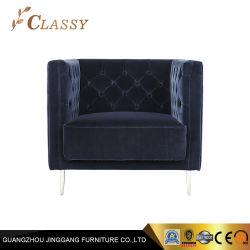 Bleu marine Chaise bar élégant hôtel design Meubles de salle de vie