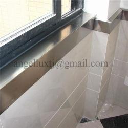 Il fornitore del testo fisso dell'acciaio inossidabile di Foshan per protegge l'angolo del bordo del pavimento della parete del balcone di Windowsill