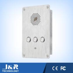 Téléphone numéroteur automatique, intérieur de l'aide l'Intercom, IP/téléphone SIP pour beaucoup mousseux