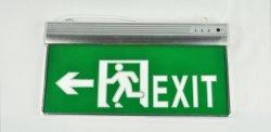3W de luz LED de señal de salida de emergencia